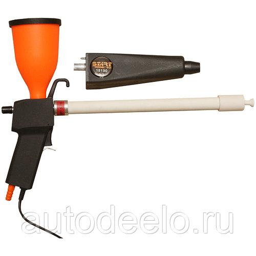 Пистолет для порошковой покраски - устройство и принцип работы
