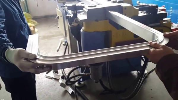 Трубогиб для профильной трубы своими руками - схемы устройства, фото и видео
