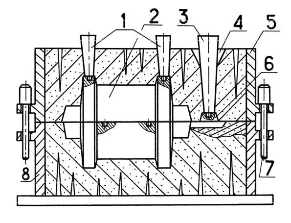 6 изготовление отливок в песчаных формах