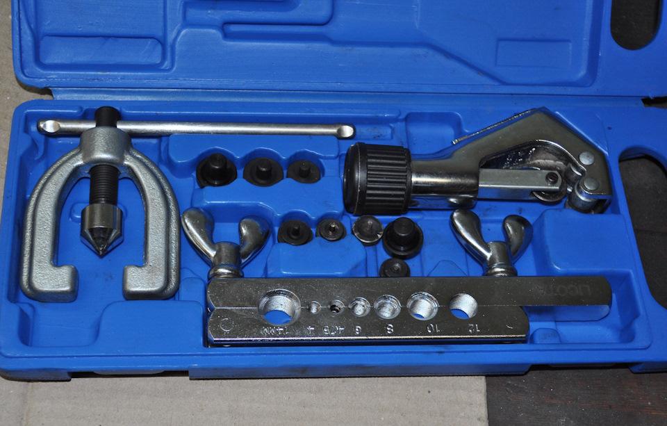 Инструменты для развальцовки медных труб