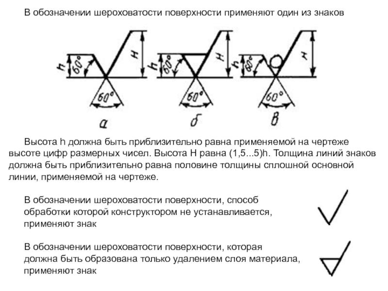 Когда и как обозначать шероховатость поверхности?