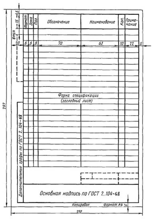 """Гост 2.106-96: """"единая система конструкторской документации. текстовые документы"""""""