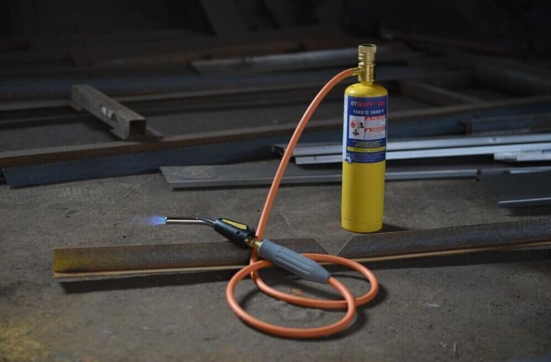 Газовая горелка для пайки алюминия: пропановые портативные паяльники с одноразовыми баллонами