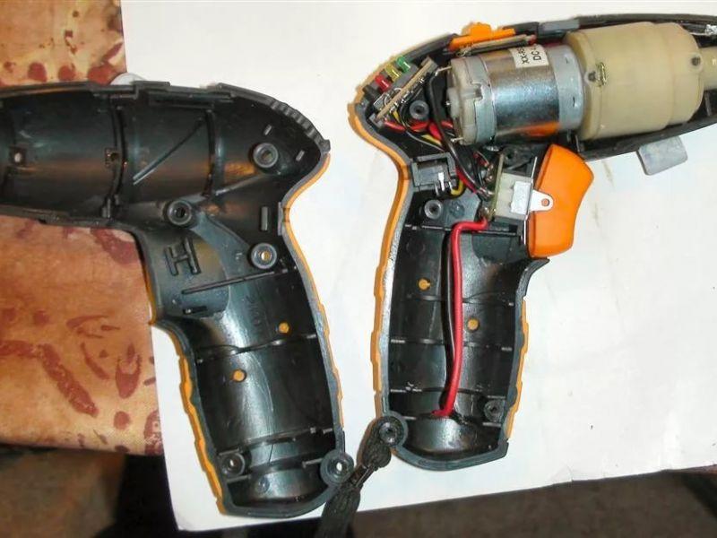 Устройство шуруповёрта и ремонт своими руками