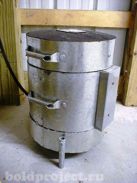 Муфельная печь своими руками: пошаговая фото инструкция по изготовлению печи для плавки