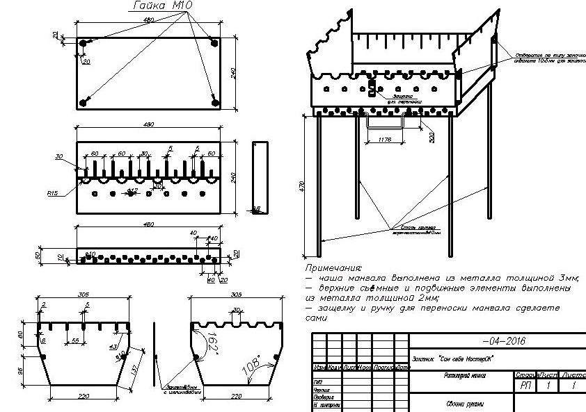 Мангал своими руками: 130 фото лучших идей и пошаговая инструкция по изготовлению мангала