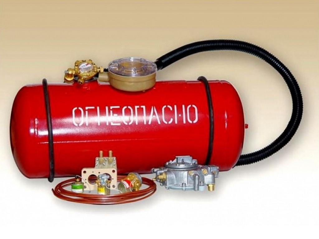 Освидетельствование газовых баллонов (метан)
