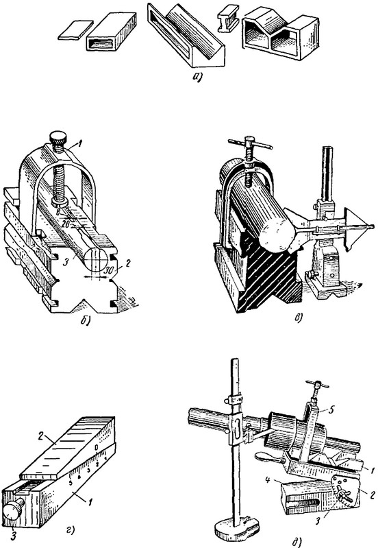 Столы и инструменты для плоскостной разметки