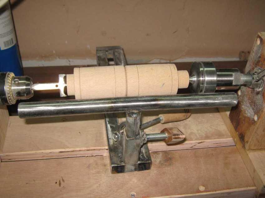 Способы изготовления токарного станка по дереву своими руками