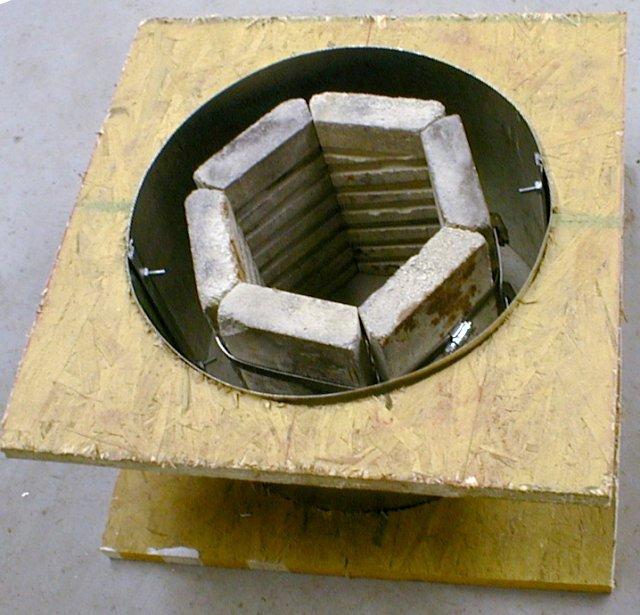 Муфельная печь своими руками - изготовление по этапам