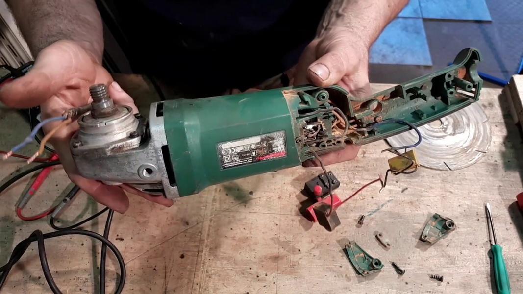 Как починить электродрель с регулировкой оборотов