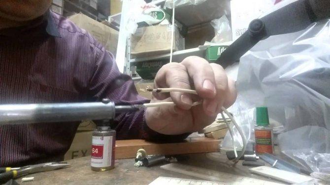 Пайка алюминиевых проводов