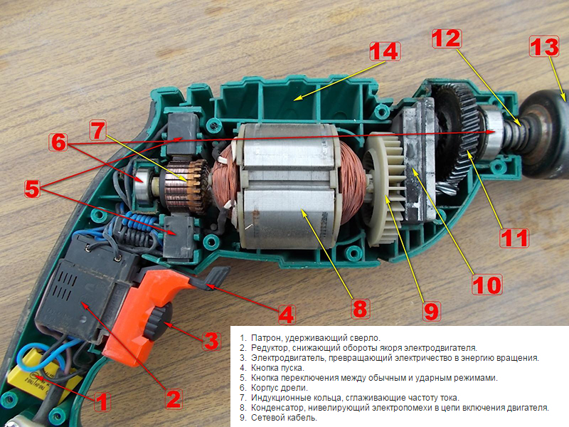 Как подключить дрель напрямую без реверса. виды схем подключения кнопки дрели ударная дрель не переключает на сверление