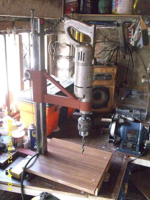 Идеи как сделать станок для сверления: 80 фото постройки самодельного станка для сверления