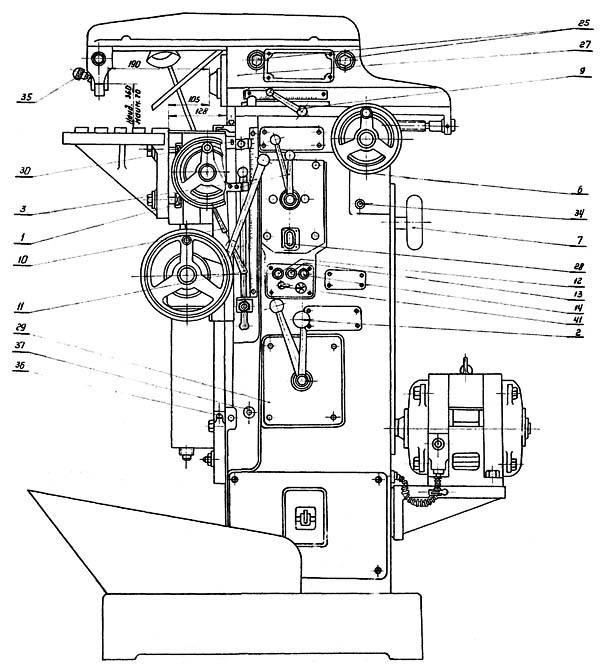 Станок фрезерный оф 55 - назначение и особенности
