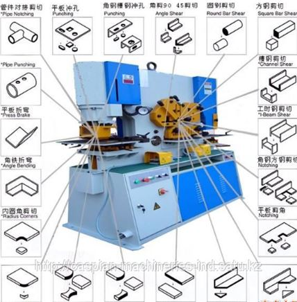 Нг5223 пресс-ножницы комбинированные схемы, описание, характеристики