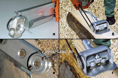 Насадки и приспособления на бензопилу: выбираем подходящий вариант