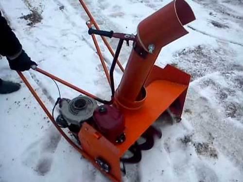 Как сделать снегоуборщик на мотоблок