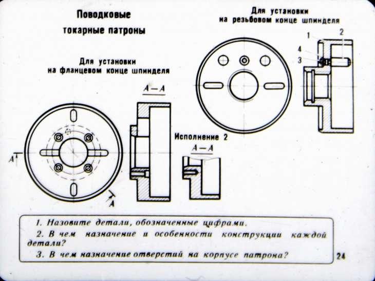 Кулачковые токарные патроны