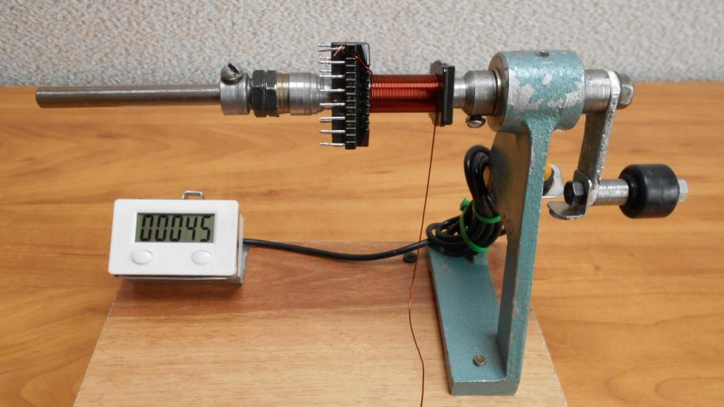 Изготовление намоточного станка своими руками