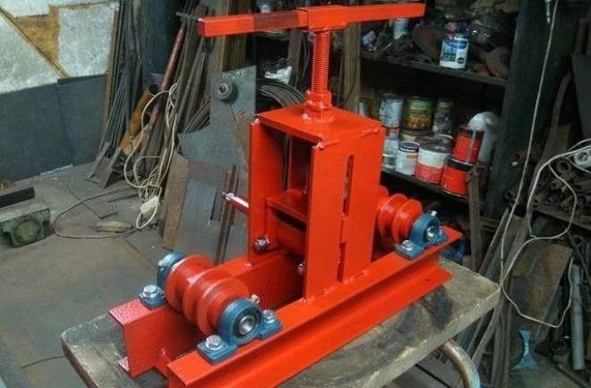 Трубогиб гидравлический своими руками - чертежи   ручной ремонт прибора stalex