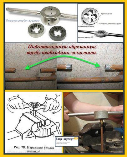 Нарезка резьбы: метчиков вручную, таблица. правильное нарезание внутренней резьбы