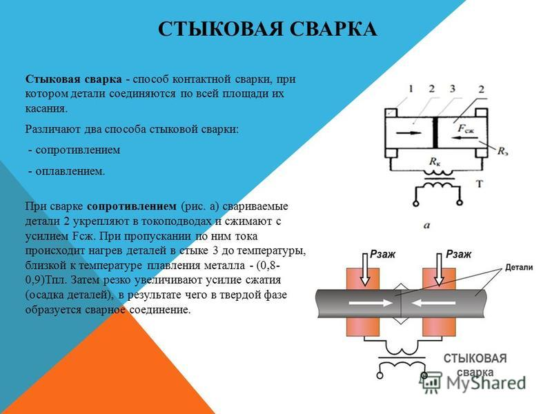 Контактная сварка и стыковая из инвертора своими руками: гост и электроды