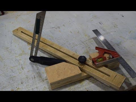 Малка – инструмент-помощник в устройстве откосов + видео