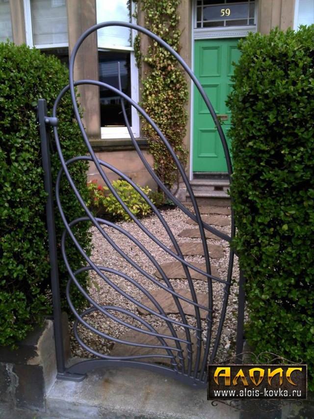Калитка для дачи — инструкция по изготовлению стильных конструкций (95 фото-идей)