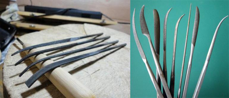 Плоские напильники: по металлу и по дереву, алмазный надфиль, бархатный, рихтовочный и другие виды напильников