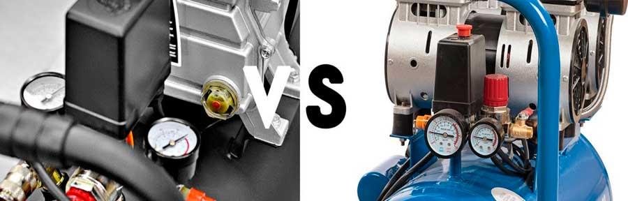 Какой компрессор лучше: масляный или безмасляный?