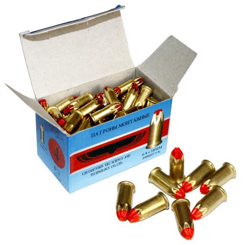 Монтажные патроны д-4 (100 шт)