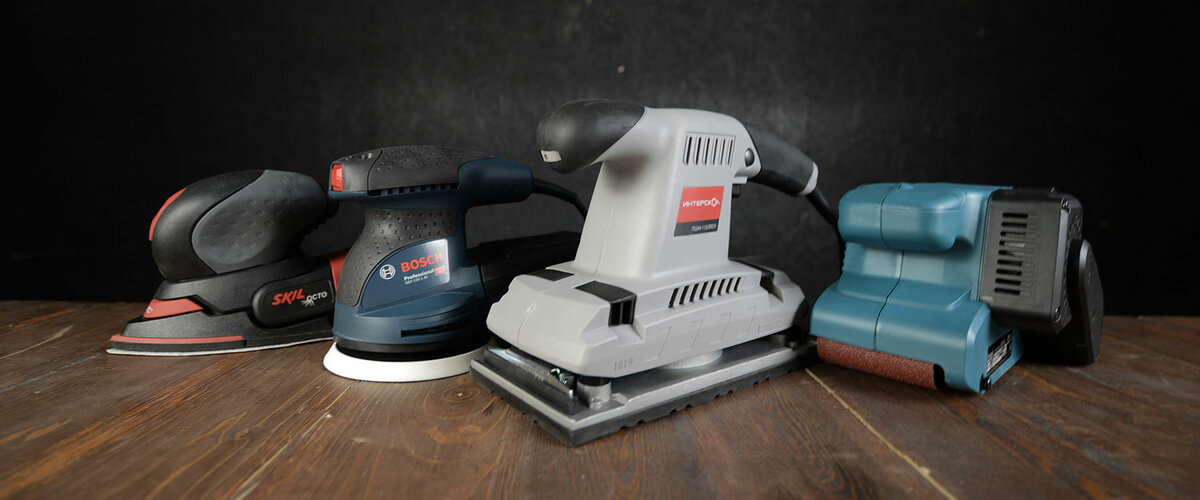 Какая шлифовальная машинка лучше эксцентриковая или вибрационная