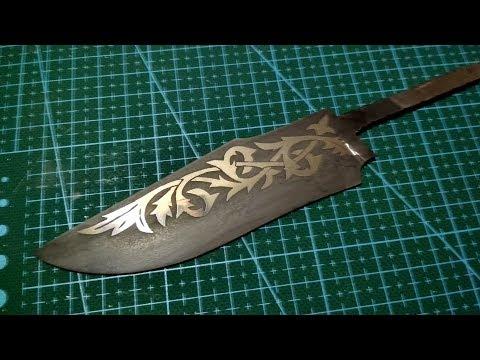 Как нанести изображение на металл методом травления