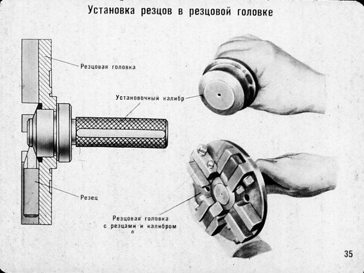 Нарезание внутренней резьбы на токарном станке