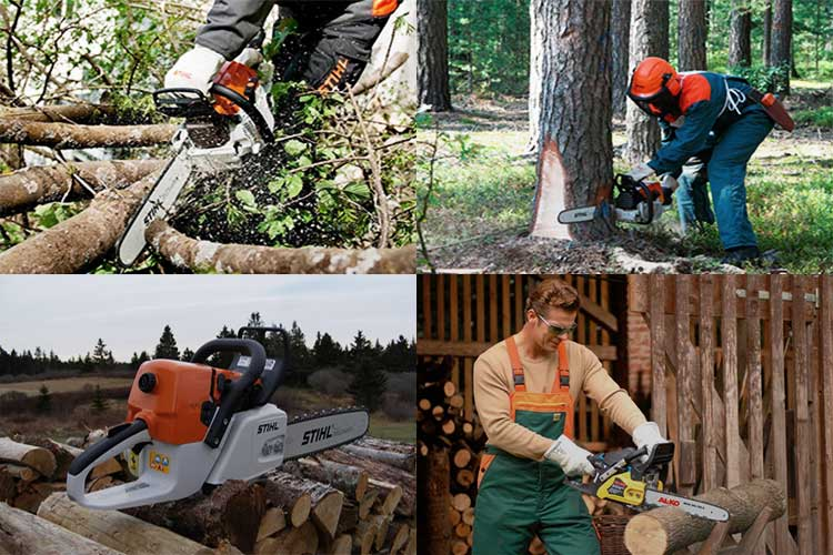 Пилим бензопилой деревья правильно и ровно? советы по резке дерева от лесопилов- обзор +видео