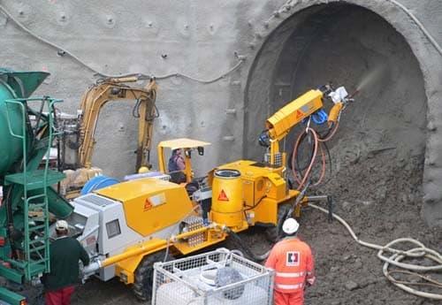 Торкрет установка своими руками. торкретирование бетона