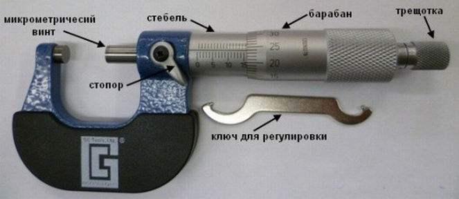 Как пользоваться микрометром, примеры измерения длин и диаметров