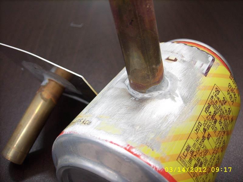 Использование припоя для пайки алюминия, меди, стали