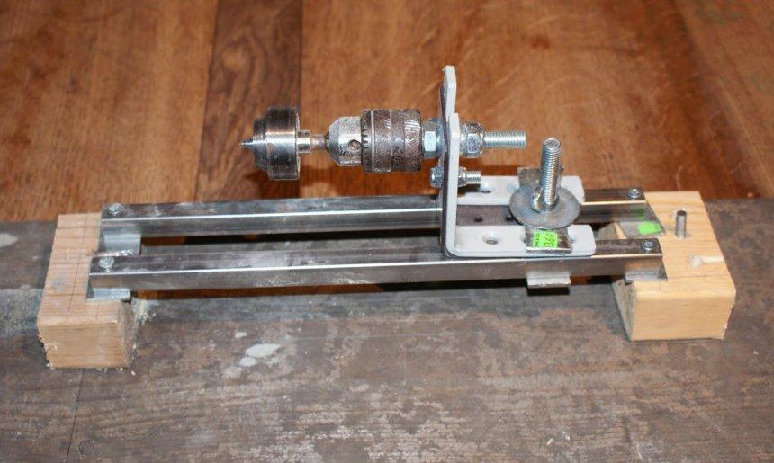 Токарный станок из дрели — как сделать механизм для обработки материалов своими руками (110 фото)