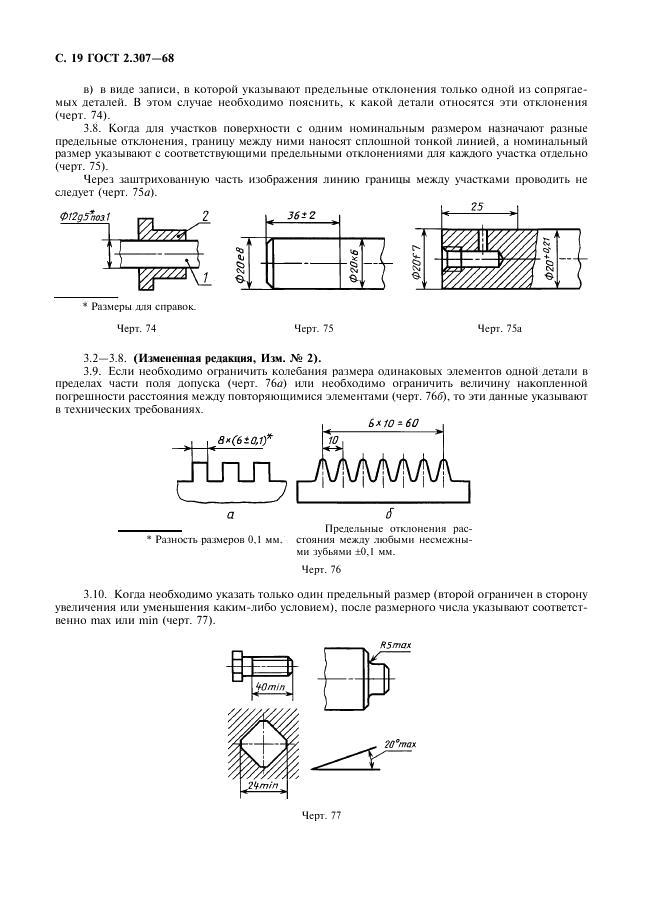 Нанесение размеров на чертежах деталей - страница 2