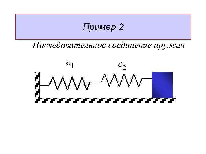 Как определить жесткость пружины