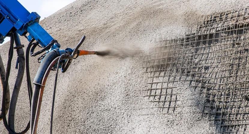 Торкрет бетон: приготовление и способы применения