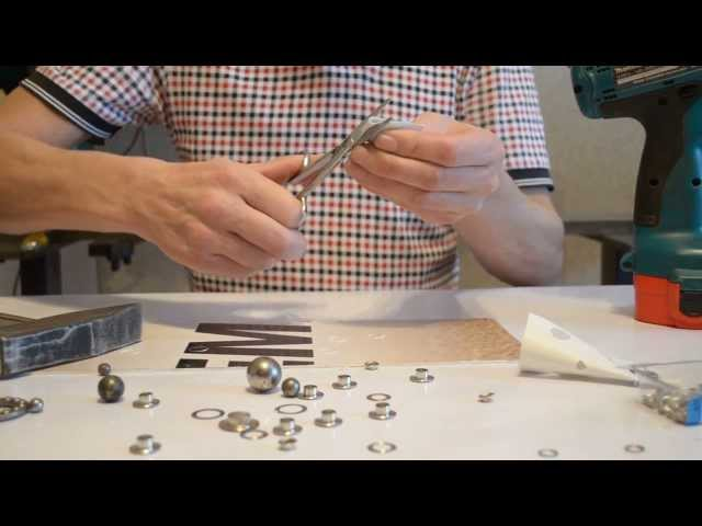 Клепка металла в слесарном деле виды, техника инструмент