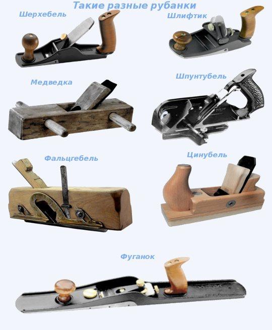 Ручной рубанок: виды, описание, назначение. столярный инструмент :: syl.ru