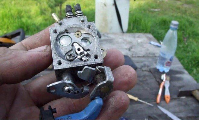Карбюратор бензопилы партнер 350: регулировка, устройство, ремонт