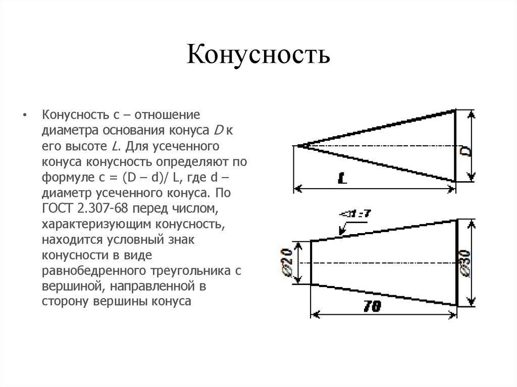 Методическое пособие: геометрические построения. (деление окружности на части; сопряжения; локальные кривые; конусность, уклон.)