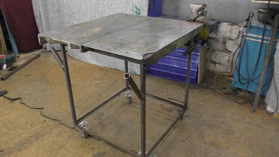 Сварочный стол своими руками: чертежи с размерами, пошаговая инструкция