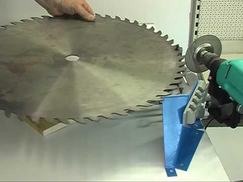 Инструкция по заточке дисковых пил своими руками