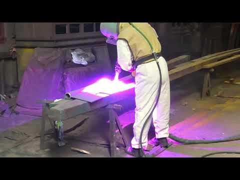 Надежная установка электродуговой металлизации покрытия pws hd 400 для коррозионной защиты цинком и алюминием.
